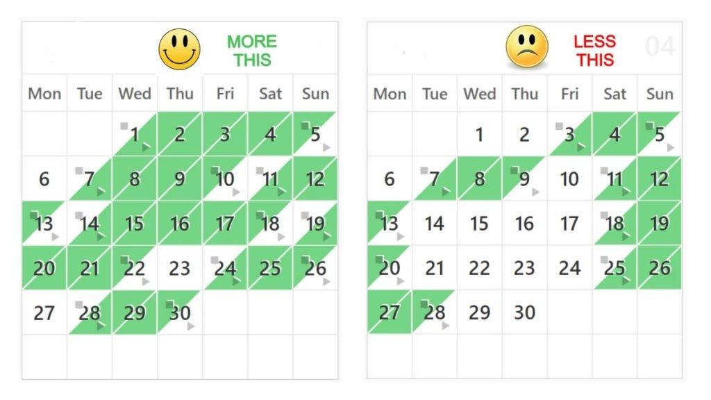 No booking fee vacation rental calendar